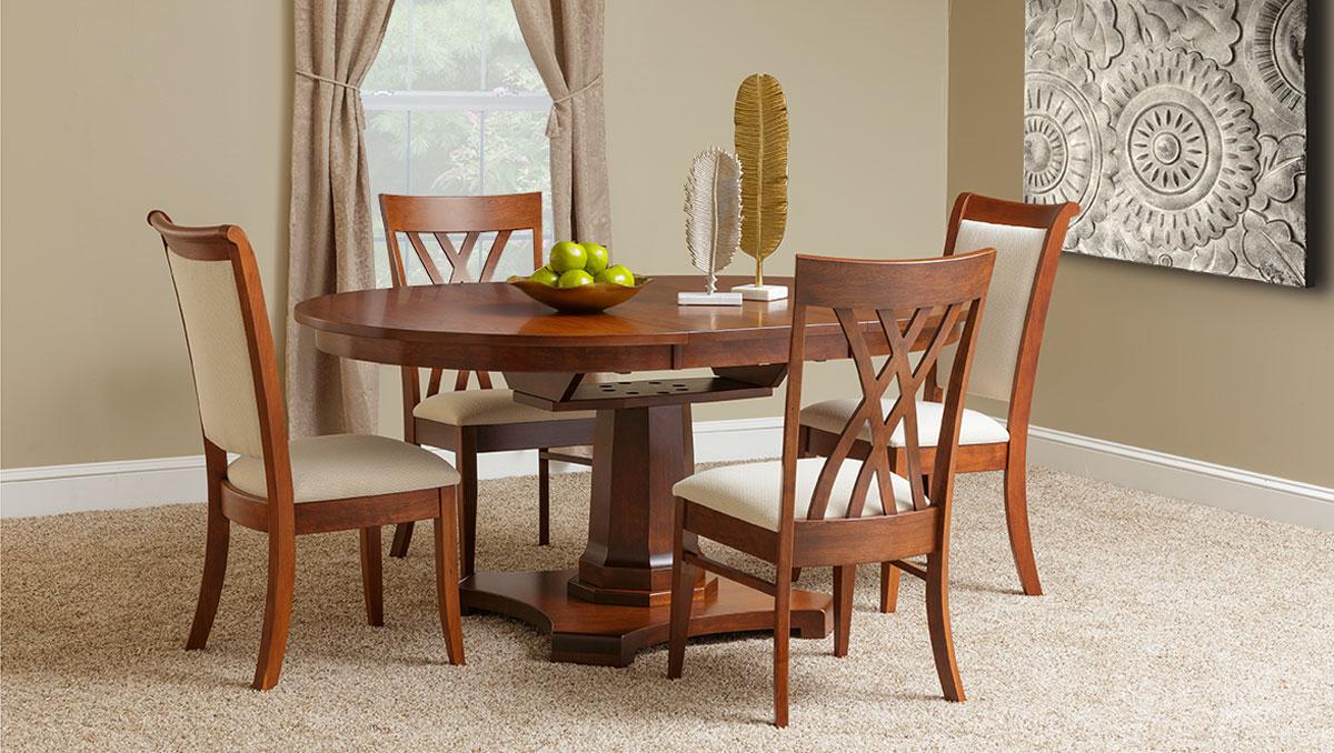 Dining Room Furniture, Dutch Home Furniture, Delaware, Fine Hardwood  Furniture